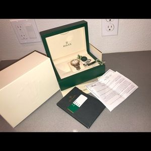 Rolex Accessories - authentic rolex yacht-master two tone white face